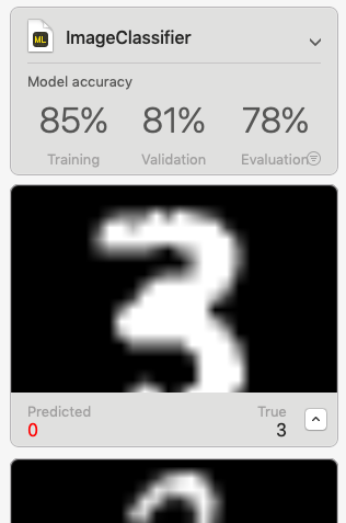 テスト時の画面スクリーンショット