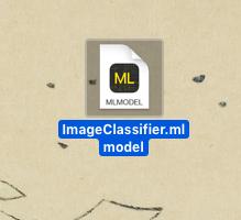 出力されたmlmodelファイル