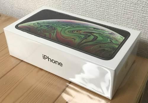 iPhone XS Maxの外箱
