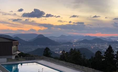 休暇村讃岐五色台からの眺め