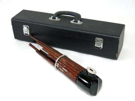 古い雅楽器 笙 ケース付 和楽器