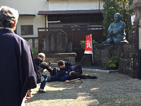 JCOM取材_調布の人近藤勇-天然理心流05