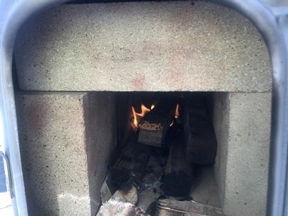 1耐火煉瓦で試行錯誤