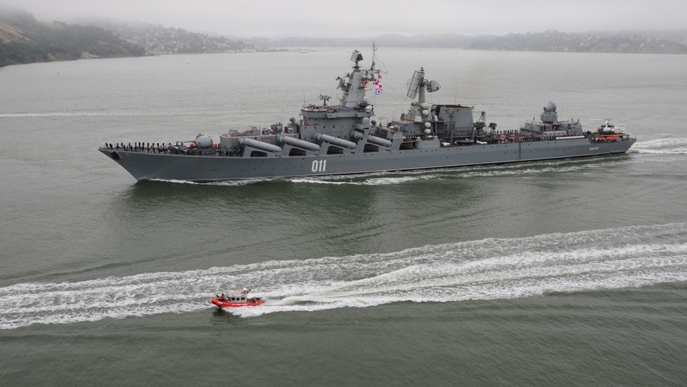 ロシア海軍太平洋艦隊艦船支隊は...