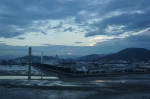 丸亀からの朝日2