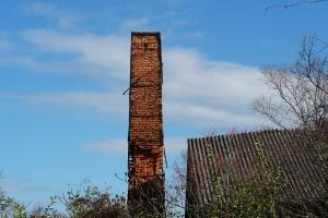 くたびれた煙突