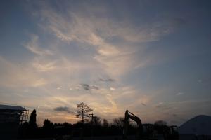 中山町の夕焼け1
