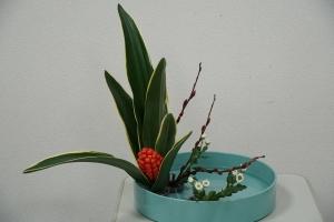 色彩盛花様式本位直立型