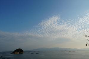長島神社と小豆島