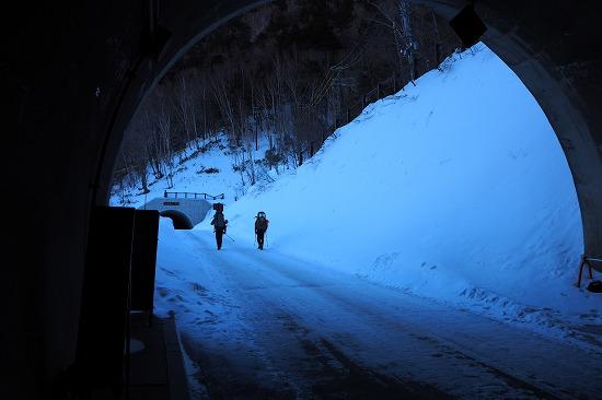 上高地トンネル