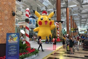 Pikachu, Changi Airport, Singapore
