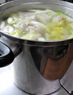 20181229白菜と肉団子のスープ