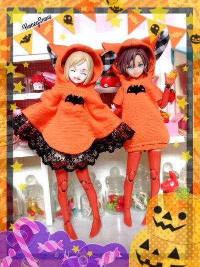 Happy Halloween !! Halloween メガミデバイス HoneySnow