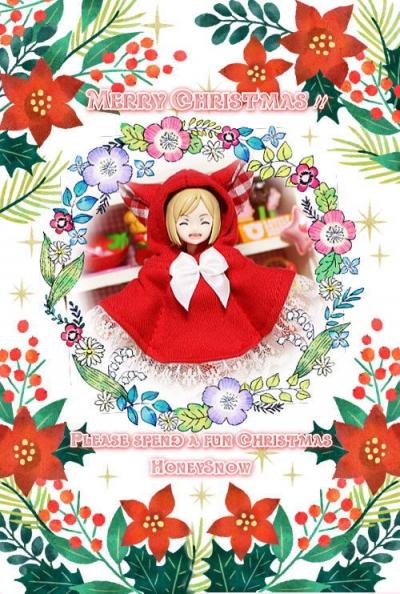 ★:゚*☆※>o('ー'*)Merry*Christmas(*'ー')o<※☆:゚*★ HoneySnow