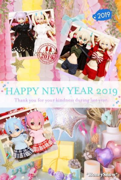 【HoneySnow】あけましておめでとうございます!! 2019