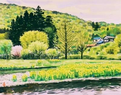 都幾川の春