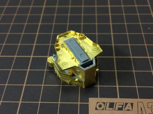 艦橋製作中 デュークオブヨーク -0311◆模型製作工房 聖蹟