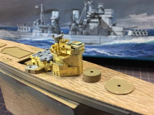 デュークオブヨーク 艦橋製作中367 ◆模型製作工房 聖蹟