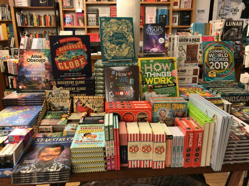ブルックリンの書店