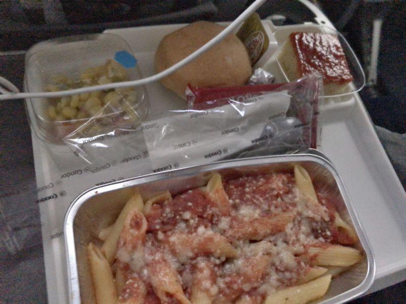 まずい機内食