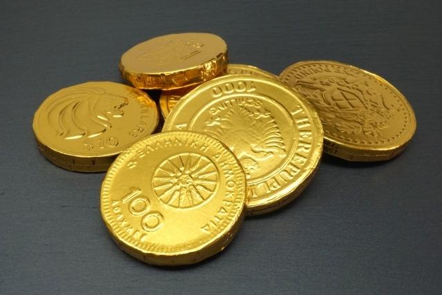 チョコレートコイン