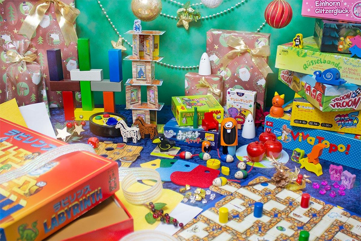 クリスマス2018年用:豪華なボードゲームと包装