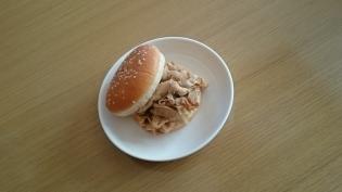 薄豚バラ焼き肉バーガー2