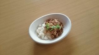 牛肉味噌炒め丼2