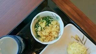丸亀製麺、肉うどん、半熟玉子天、コロッケ6