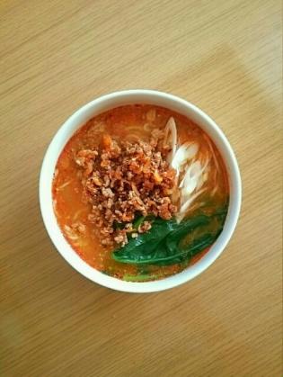 マルちゃんコクの一滴香味担々麺2