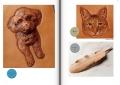 トイプードルと猫目の描き方