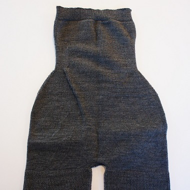 大法紡績・シルクウールはらまきパンツ5分丈2