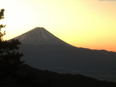 20190118 富士山方面のライブカメラ画像