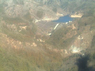 20190127荒川ダム方面のライブカメラ画像