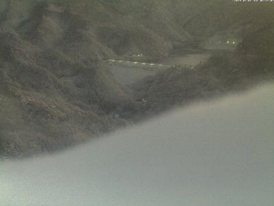 20190201 荒川ダム方面のライブカメラ画像 6:20