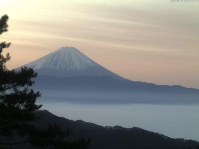 20190207 富士山方面のライブカメラ画像