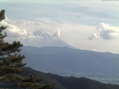 20190216 富士山方面のライブカメラ画像