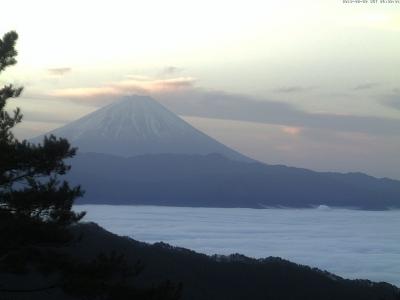 20190220 富士山方面のライブカメラ画像