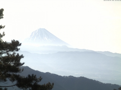 20190224 富士山方面のライブカメラ画像