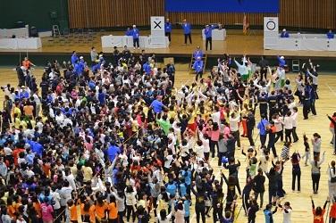 △◎◎7共済会体育祭写真(○×クイズ)【H30.11.11】77-25-25