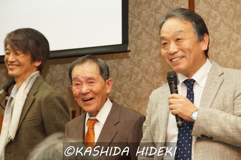 左から長塚さん、福田さん、奥田さん