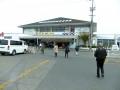 岡山県漁連水産物展示直売所到着