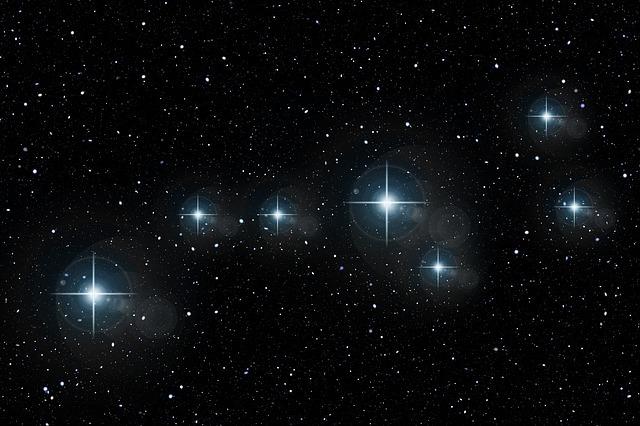フリー画像・星座