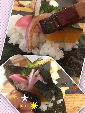 手織り寿司3