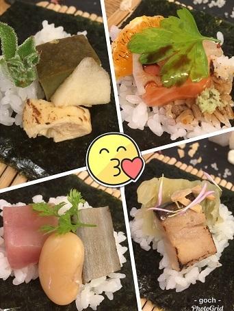 手織り寿司5