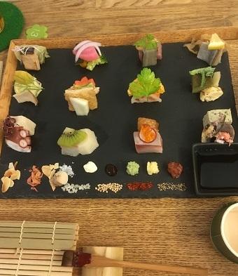 手織り寿司6