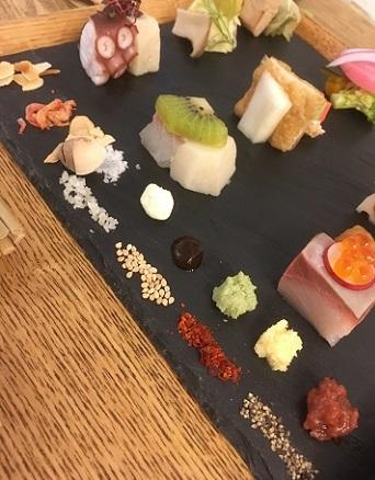 手織り寿司7