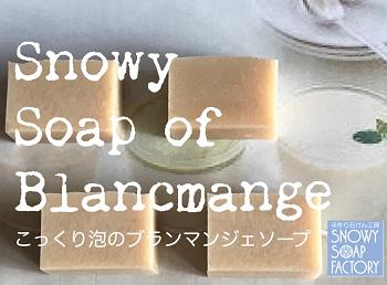 リサイズ こっくり泡のブランマンジェソープ