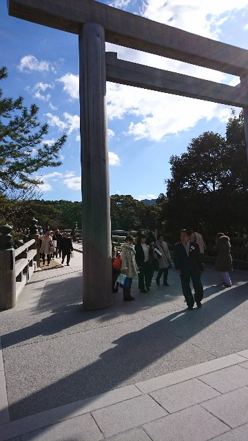 伊勢神宮 五十鈴橋
