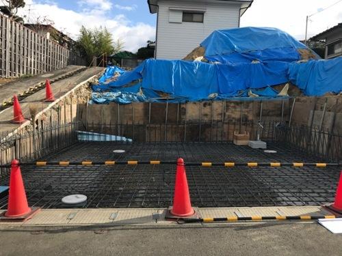 旭ヶ丘の家 配筋検査
